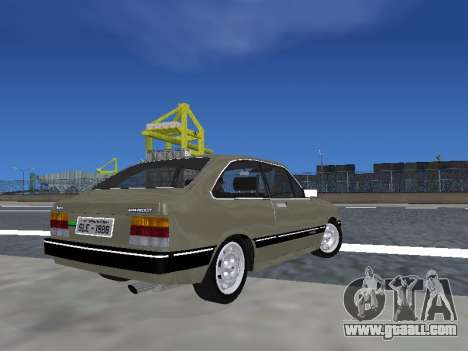Chevrolet Chevette Hatch for GTA San Andreas left view