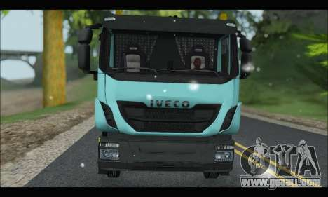 Iveco Trakker 2014 Snow for GTA San Andreas left view
