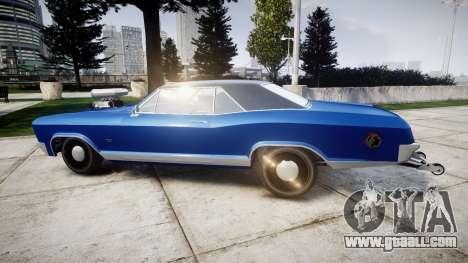 GTA V Albany Buccaneer Little Wheel for GTA 4 left view