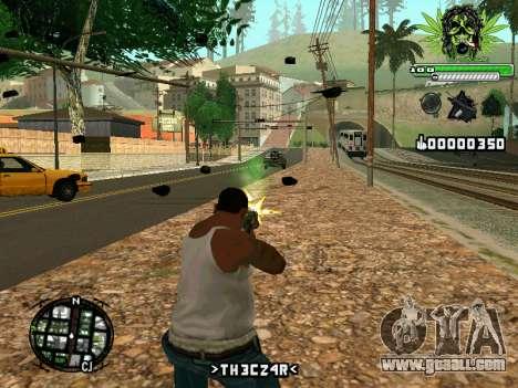 C-HUD Marihaus for GTA San Andreas second screenshot