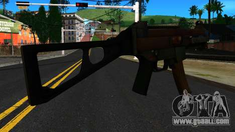 UMP9 from Battlefield 4 v1 for GTA San Andreas second screenshot