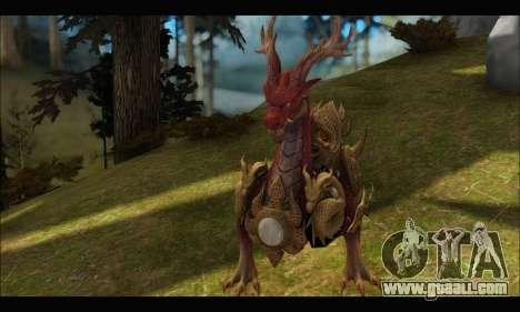 Kirin Dragon (TERA Online) for GTA San Andreas third screenshot