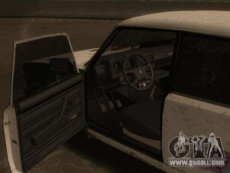 VAZ 2105 Rusty trough for GTA San Andreas right view