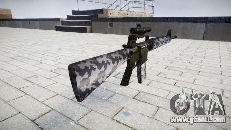 The M16A2 rifle [optical] siberia for GTA 4 second screenshot