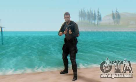 Sam Fisher - Paladin Outfit (Splinter Cell Black for GTA San Andreas fifth screenshot