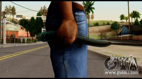 Solidsnake CQC Knife from Metal Gear Solid for GTA San Andreas third screenshot