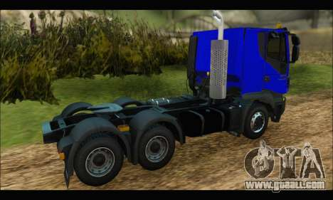 Iveco Trakker 2014 for GTA San Andreas right view