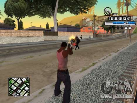 C-HUD New Style for GTA San Andreas second screenshot