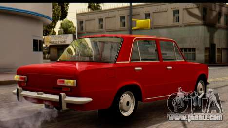 VAZ 2101 Zhiguli for GTA San Andreas back left view