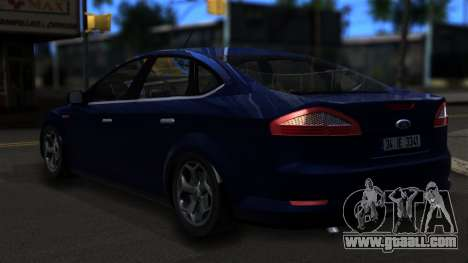 Ford Mondeo 2007 for GTA San Andreas left view