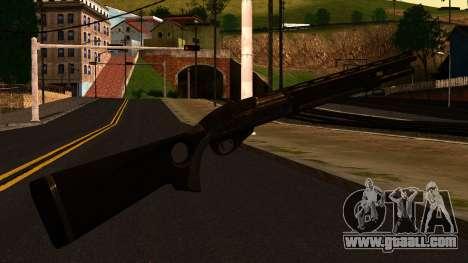 Shotgun from GTA 4 for GTA San Andreas second screenshot