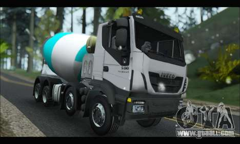 Iveco Trakker 2014 Concrete Snow for GTA San Andreas