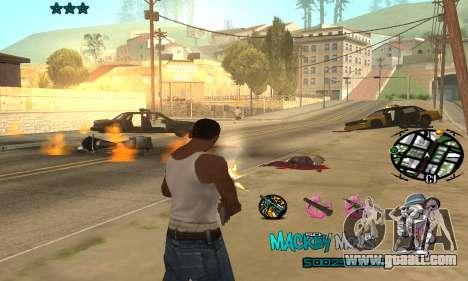 C-HUD Mickey Mouse for GTA San Andreas third screenshot