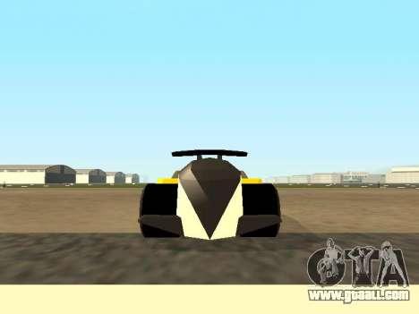 RC Bandit (Automotive) for GTA San Andreas back left view
