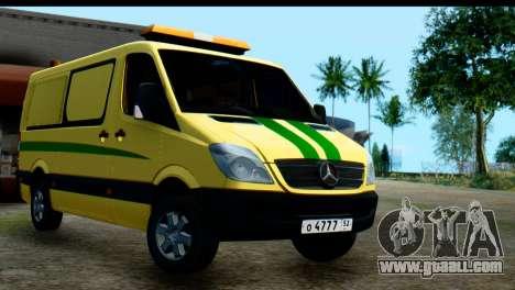 Mercedes-Benz Sprinter Collection Russia for GTA San Andreas
