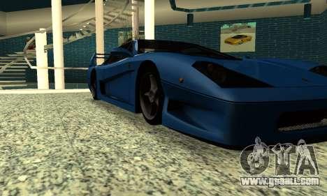HD Turismo for GTA San Andreas right view