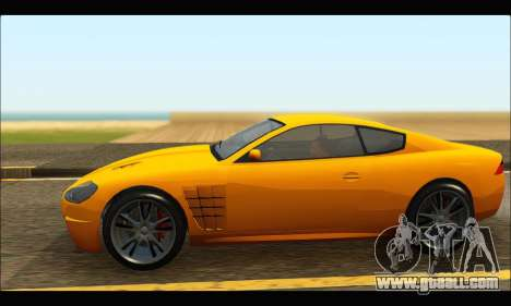 Ocelot  F620 (GTA V) for GTA San Andreas left view
