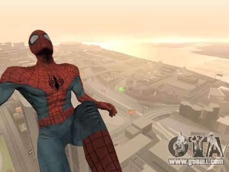 Spiderman 3 Crawling for GTA San Andreas third screenshot