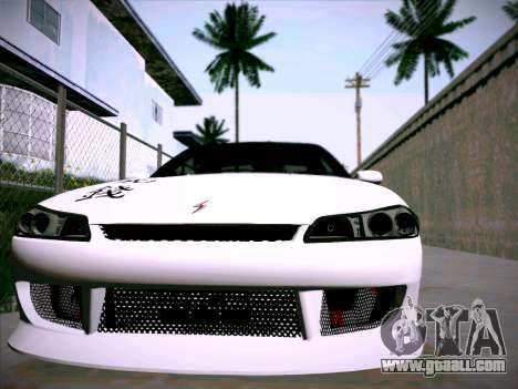 Nissan Silvia S15 Roux for GTA San Andreas back view