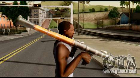 RPG7 from Metal Gear Solid for GTA San Andreas third screenshot