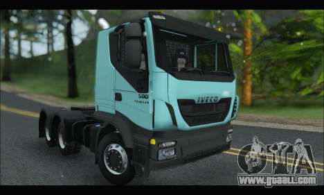 Iveco Trakker 2014 Snow for GTA San Andreas