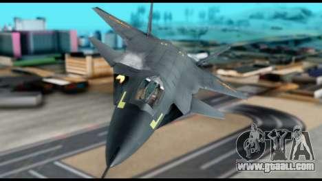 Chenyang J-20 BF4 for GTA San Andreas right view