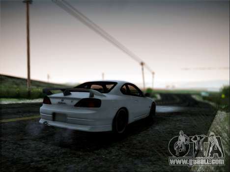 Nissan Silvia S15 Roux for GTA San Andreas left view