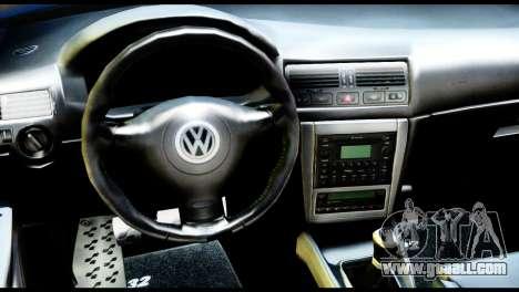 Volkswagen Golf MK4 R32 Stance v1.0 for GTA San Andreas
