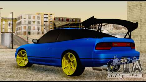 Nissan Silvia S13 Sileighty Drift Moster for GTA San Andreas left view