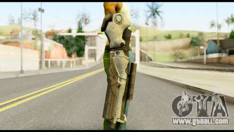 Plasmagun from Metal Gear Solid for GTA San Andreas third screenshot