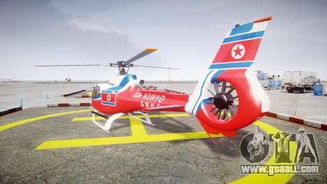 Eurocopter EC130 B4 Air Koryo for GTA 4