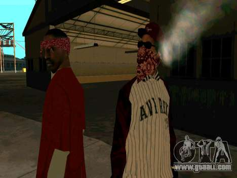 Doggers Gang for GTA San Andreas third screenshot
