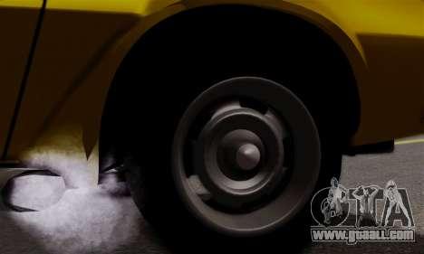 Chevrolet Camaro Mk.II for GTA San Andreas inner view