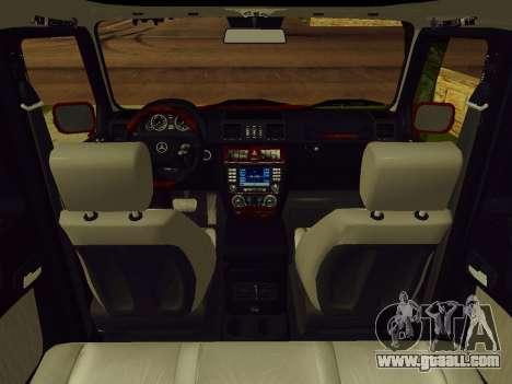 Mercedes-Benz G500 for GTA San Andreas back view