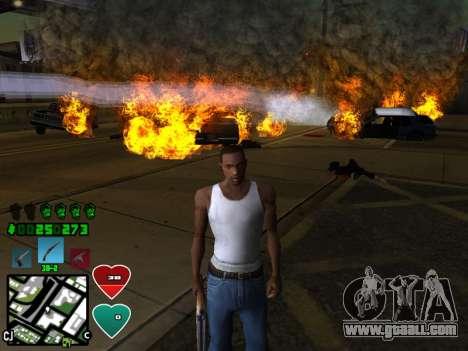 C-HUD Classic v4.1 for GTA San Andreas second screenshot