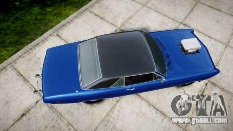 GTA V Albany Buccaneer Little Wheel for GTA 4 right view