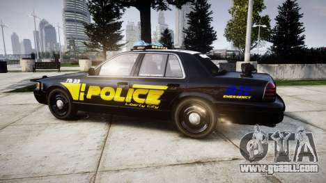 Ford Crown Victoria 2008 LCPD [ELS] for GTA 4
