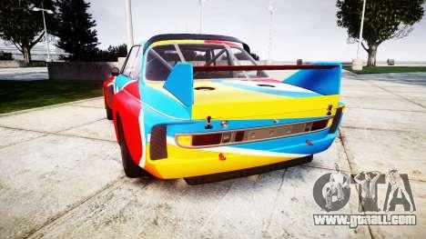 BMW 3.0 CSL Group4 1973 Art for GTA 4 back left view