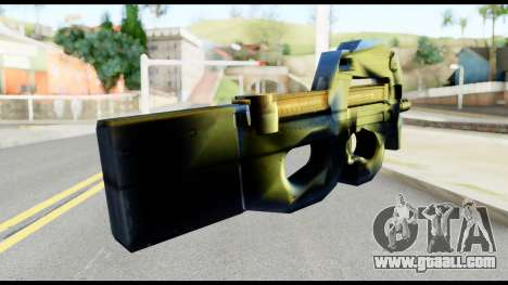 P90 from Metal Gear Solid for GTA San Andreas second screenshot