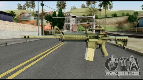 Colt Commando from Max Payne for GTA San Andreas