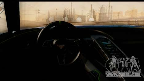 New ZR-350 (ZR-380) v1.0 for GTA San Andreas upper view