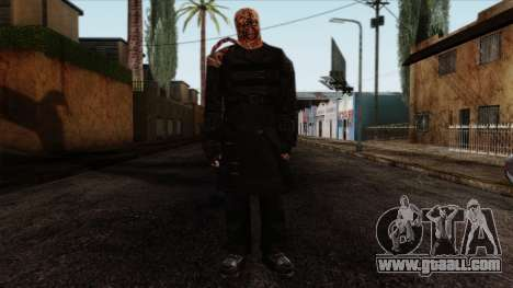 Resident Evil Skin 9 for GTA San Andreas
