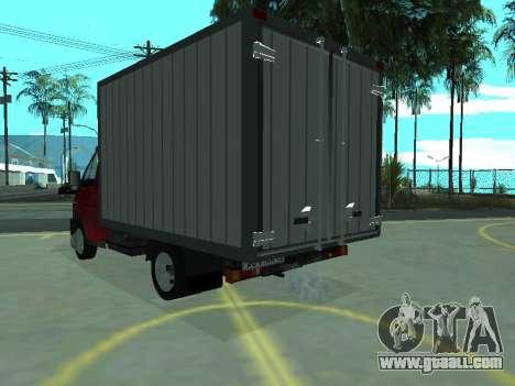 GAZel 3302 for GTA San Andreas right view