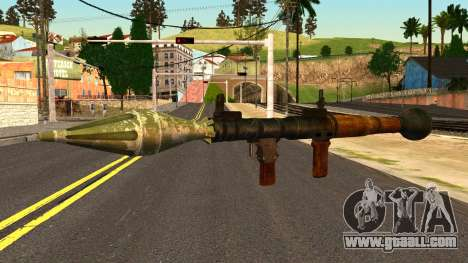 Rocket Launcher from GTA 4 for GTA San Andreas