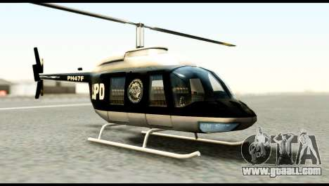Beta Police Maverick for GTA San Andreas