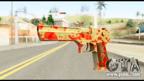 Desert Eagle with Blood for GTA San Andreas
