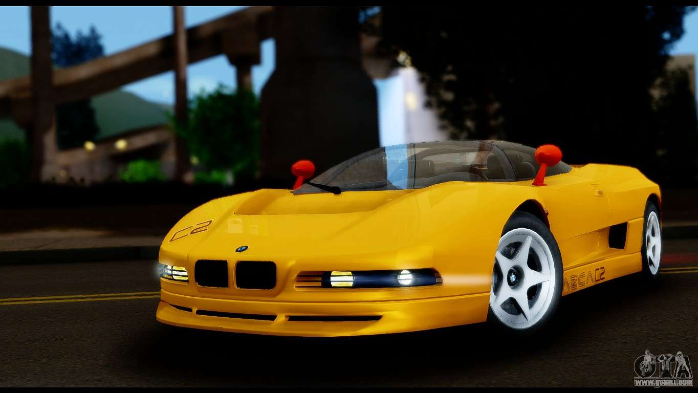 Bmw Italdesign Nazca C2 1991 For Gta San Andreas
