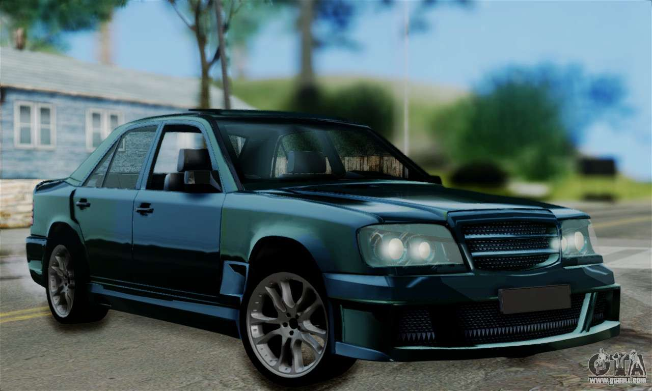 Mercedes benz w124 brabus v12 for gta san andreas for Mercedes benz v12