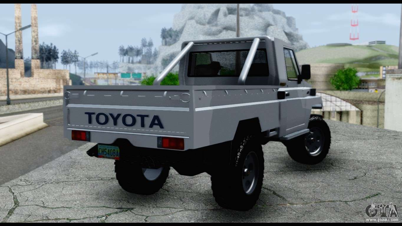 toyota land cruiser macho pick up 2007 for gta san andreas. Black Bedroom Furniture Sets. Home Design Ideas