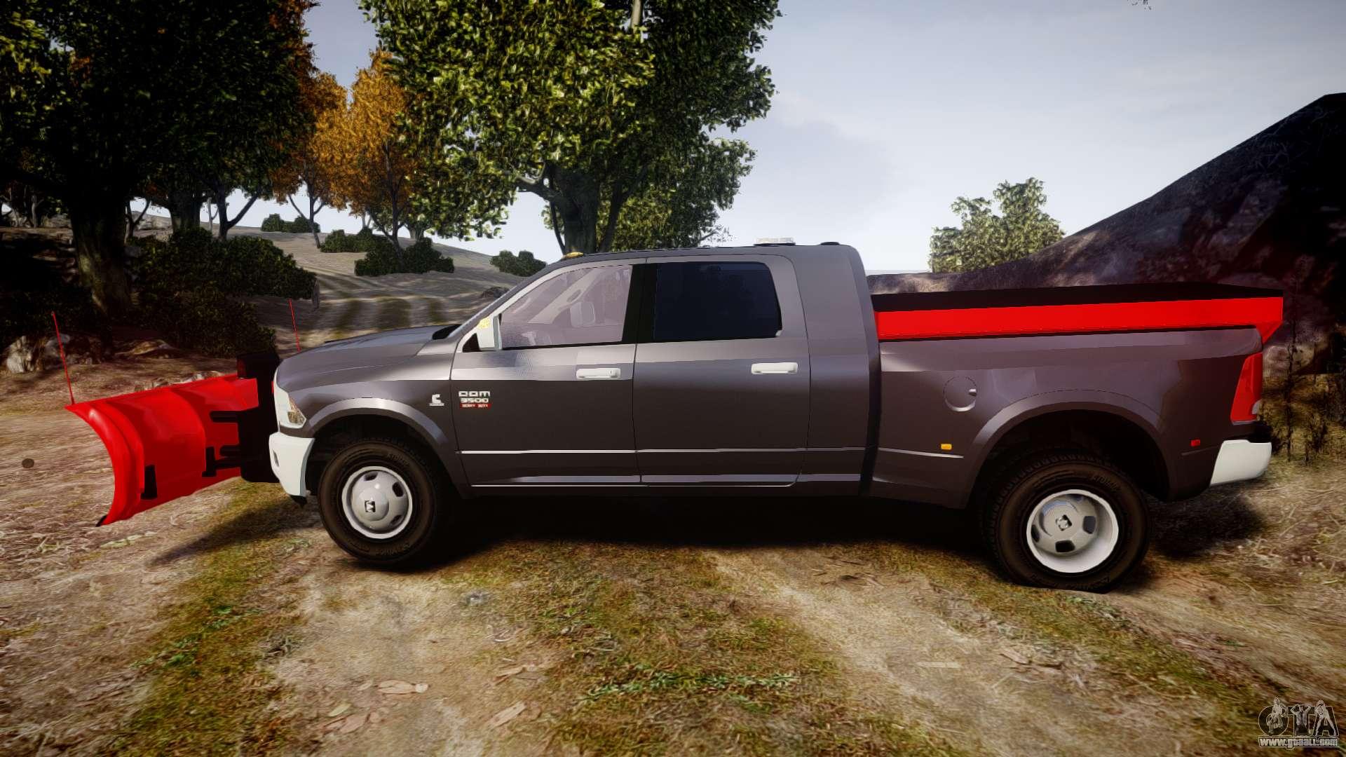 Dodge Ram 3500 Plow Truck ELS for GTA 4